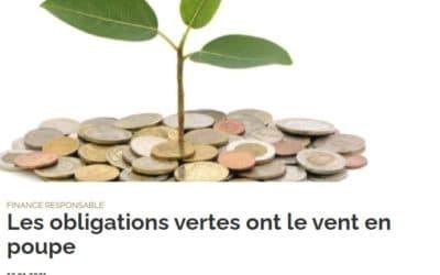 Les obligations vertes ont le vent en poupe – investir